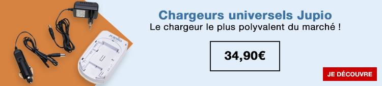 Jupio- chargeurs universelle