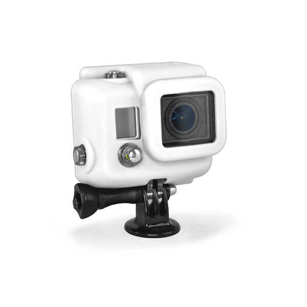 Housse silicone cover HD blanche pour HERO 3