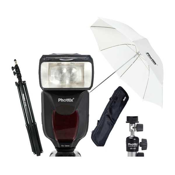 Flash Photo Phottix Kit Flash Mitros TTL pour Canon (80341)